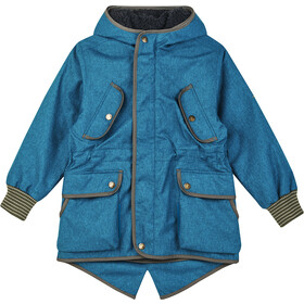 Finkid Kaveri Ice Veste Fille, seaport/ivy